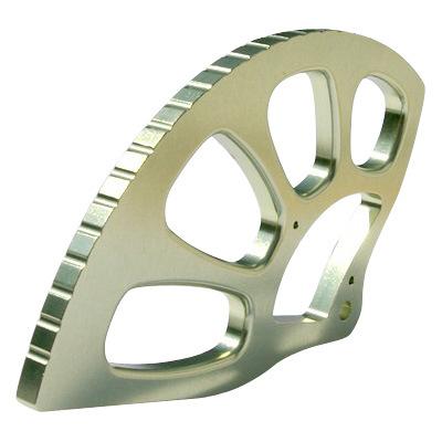 Aluminium Machining Part with 5axis, 4axis Machining Center
