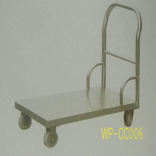 China Stainless Steel Kitchen Flat Cart for Commercial Kitchen ...