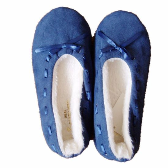 Foldable Roll up Soft Indoor Ballet Flats Dance Shoes (JMC-387L)