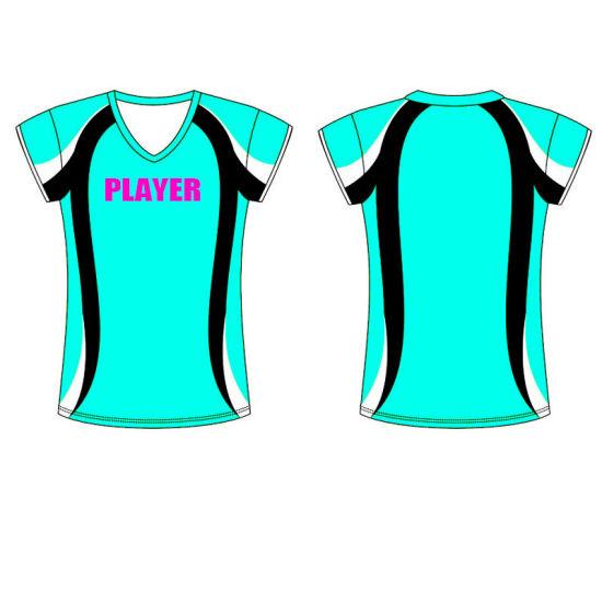 Custom Sublimation Printed Logo Womens Sportswear for Volleyball 77a8d0dd1
