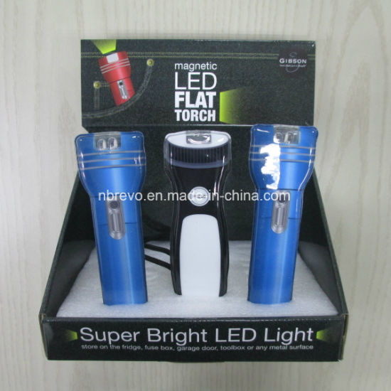 Super Bright Magnetic LED Pocket Flashlight (RS7000) pictures & photos