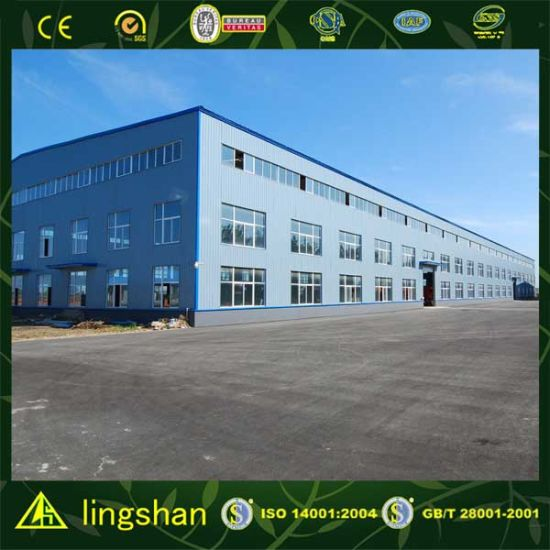 Low Cost Economic Prefabricated Steel Frame Building pictures & photos