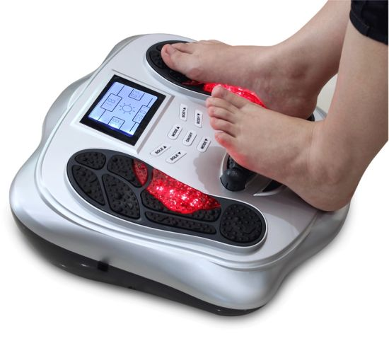 Low Frequency Electronic Magnetic Wave Pulse Foot Massager for Pain Relief