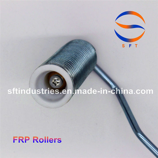 China Aluminum Spring Rollers Paint Rollers for Glass Reinforced ...