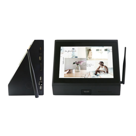 Retail Use Wall Mounted Desk Mounted Front Scanner Barcode Scanner Tablet PC pictures & photos