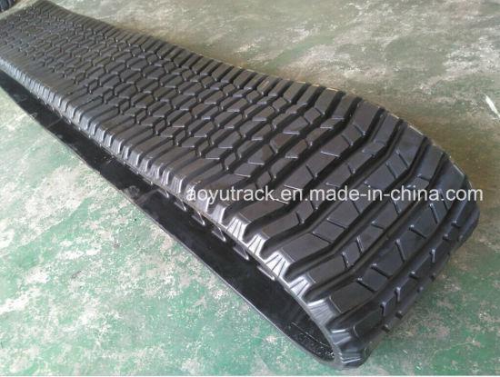 Rubber Track for Caterpillar 287b Compact Loaders pictures & photos