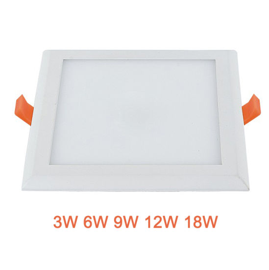 2018 New Design Panel Light Wholesale Square LED Downlight