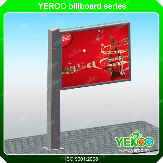 Outdoor Signage Outdoor Hoarding Billboard Pylons Steel Board Trivision Billboard pictures & photos