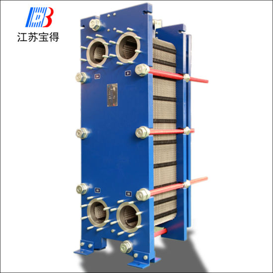 Copper Brazed Plate Type Oil Cooler Heat Exchanger for Hydraulic Oil Cooler pictures & photos