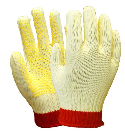 Work Gloves Dotted Coating Easy Grab Safety Protection Construction /& Gardening