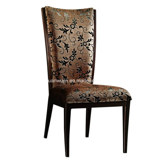 High Back Affordable Upholstered Restaurant Dining Chairs (JY-F42)