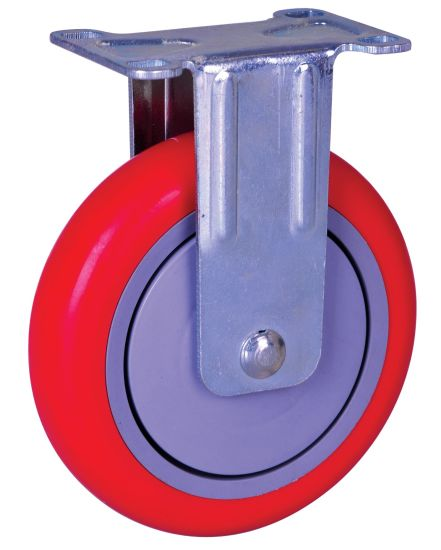 5 Inch PU Wheel Caster, Heavy Duty Caster with Brake