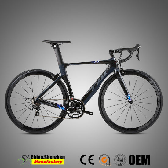 Superlight 700c Sram Apex 20speed Road Carbon Firber Bicycle pictures & photos