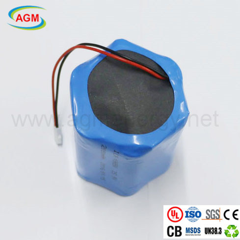 OEM Icr18650 25.9V 2000mAh Rechargeable Battery 7s1p Lithium Battery