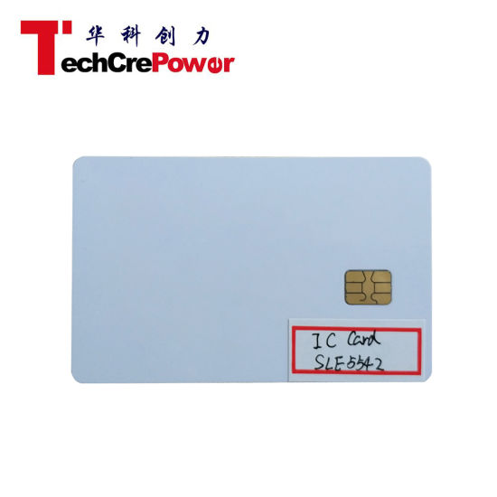 Sle5542 IC Chip Card High Quality IC Smart Card IC Contact Card pictures & photos