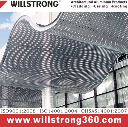 Aluminum Composite Panel Perforated for Curtain Wall pictures & photos