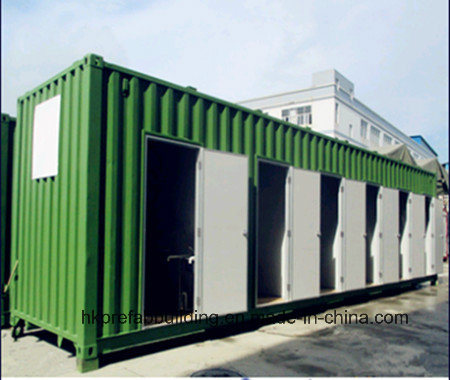 40feet Shipping Container Modular Full Equiped Shower for Worker Camp pictures & photos