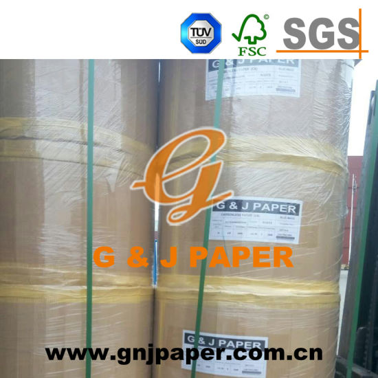 Good Quality 430mm*6000m Size Carbonless Paper for Invoice Book Production pictures & photos