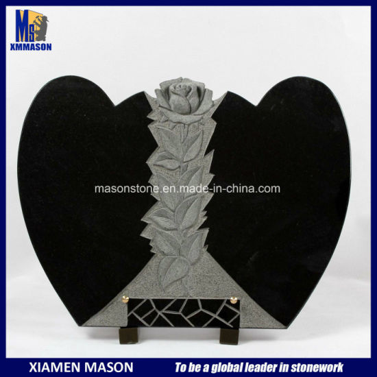 3D Engraving Rose for Memorial Plaques