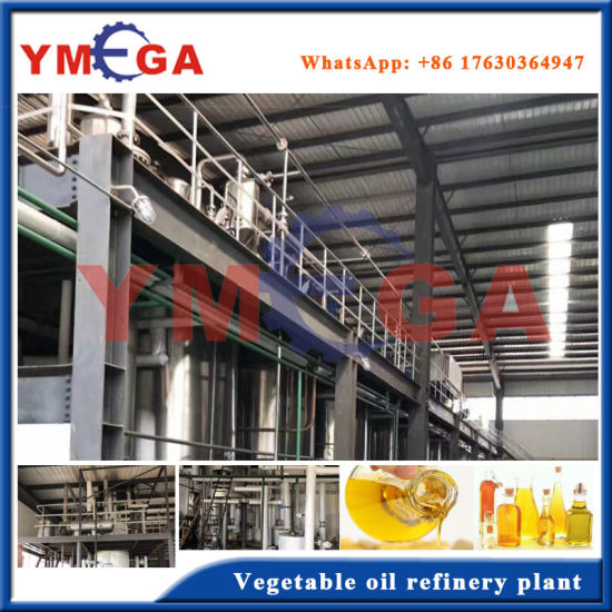 Top Quality Soybean Oil Refining Machine From China pictures & photos