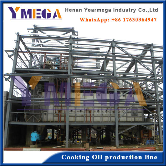 Yearmega New Product Advanced Design Automatic Edible Oil Refining Line pictures & photos