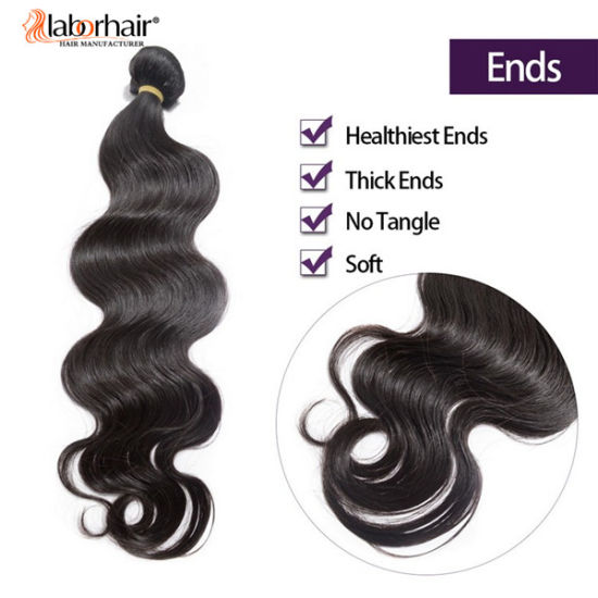 Brazilian Natural Body Wave 100% Virgin Human Hair Extension Lbh 077 pictures & photos