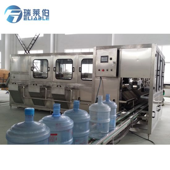 Automatic 3 & 5 Gallon Big Bottle Water Filling Machine pictures & photos