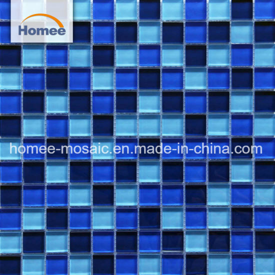 China Sale Glass Mosaics Anti Slip Swimming Pool Tiles