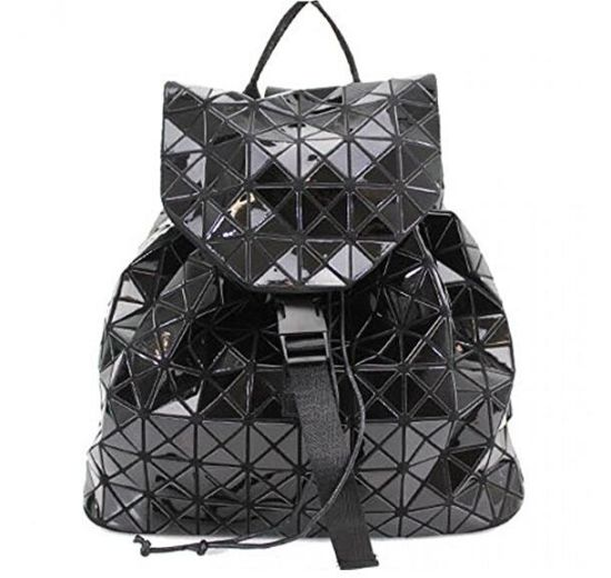 China Factory Women Glossy Geo Prism Design Girls School Backpacks Gym  Travel Fancy Bags ff0c9e562ca85