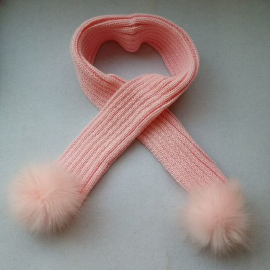 Circular Neck Scarf/ Trendy Acrylic Knitted Scarves pictures & photos