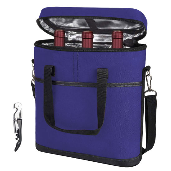 Large Capacity Insulated Lunch Bag Cool Tote Cooler Thermal Picnic Food Lunch Cooler Bag for Women Wine