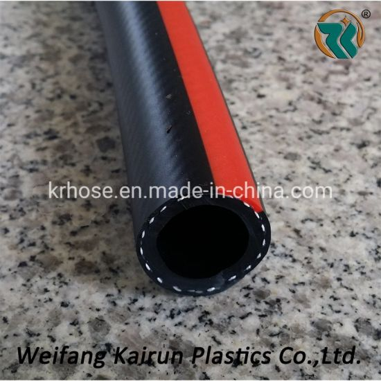 "Dim Surface Black 3/8"" High Pressure PVC Mix Rubber Air Hose"