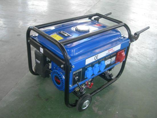 Ce Certificate Honda Type Engine 4kw Gasoline Generator (TG5500)