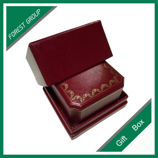 Luxury Logo Printed Paper Jewelry/ Ring/ Necklace Box pictures & photos