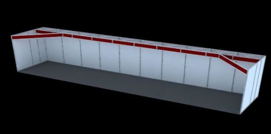 Exhibition Booth Shell Scheme : China customized exhibition booth shell scheme china aluminum