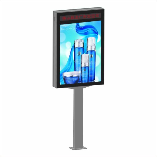 Outdoor Street Customized Design LED Lamp Post Light Box