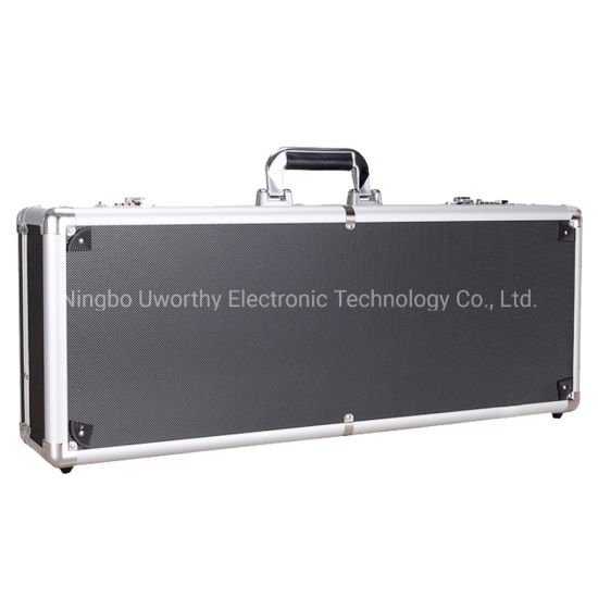 China Manufacturer Customized Size Lockable Aluminum Case Hard Aluminum Carrying Tool Case