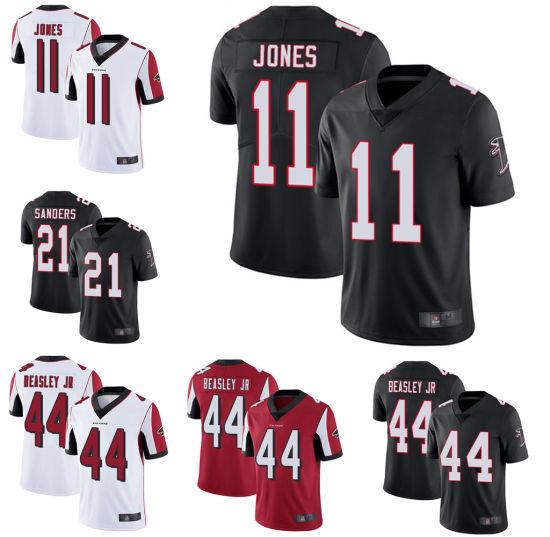 promo code 67807 1f555 Atlanta Julio Jones Vic Beasley Jr Deion Sanders American Football Jersey