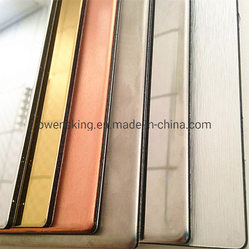 Hight Quality Stainless Steel/Copper/Zinc/Aluminium Composite Panel for Exterior Wall pictures & photos