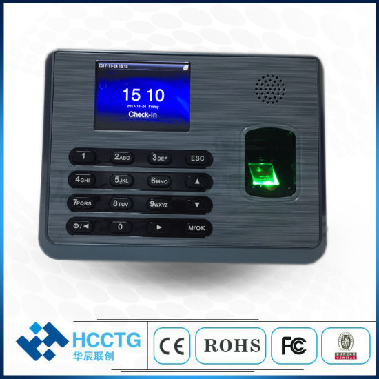 Linux Operating System Fingerprint Time Attendance System (TX628)