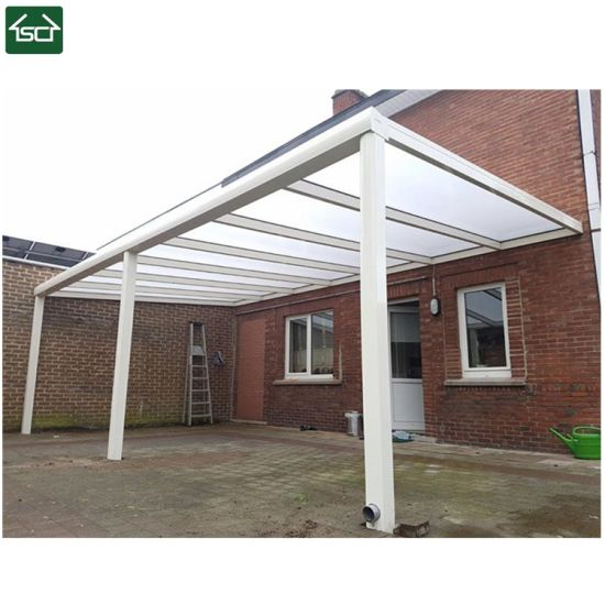 Europe Modern Outdoor Sun Shades Retractable Aluminum Patio Cover Awning