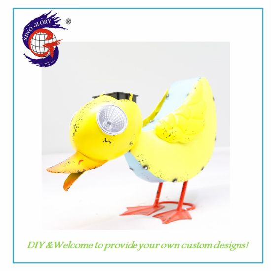 LED Solar Light Mini Duck Decoration for Indoor Outdoor