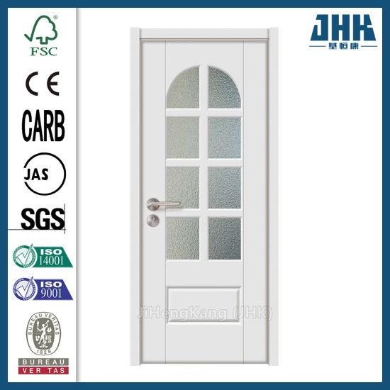 Kitchen Swing Cheap Interior Wood Glass Door