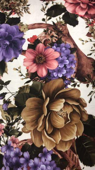 New Style Printed Velboa Home Textile Sofa Fabric Polyester Plush Fabric