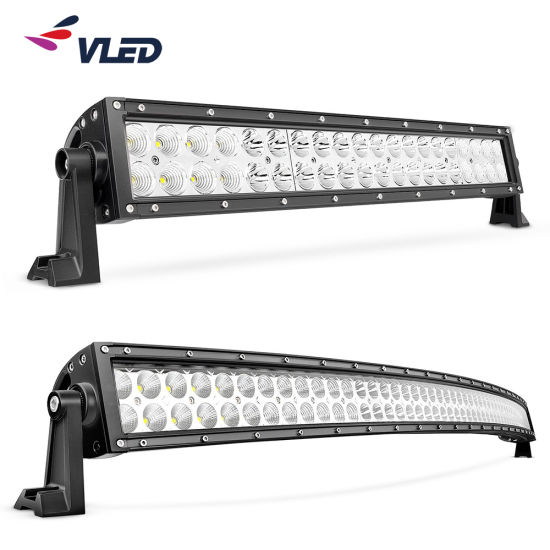 Hot Sales Straight Curved CREE Car LED Lightbar for Offroad Driving Light Bar ECE Emark R10 R112 for Jeep Wrangler SUV Truck Tractor