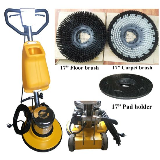 China 1.5HP 110V Single Disc Floor Cleaning Machine Floor Scrubber ...