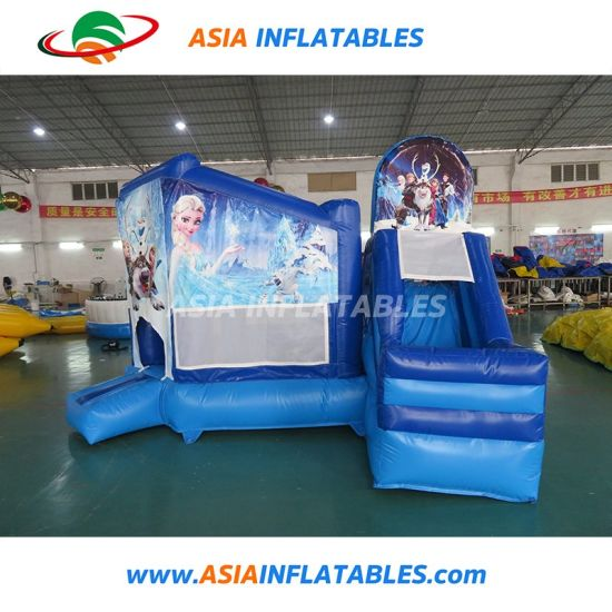 Cartoon Inflatable Jumping House Inflatable Bouncer with Slide pictures & photos