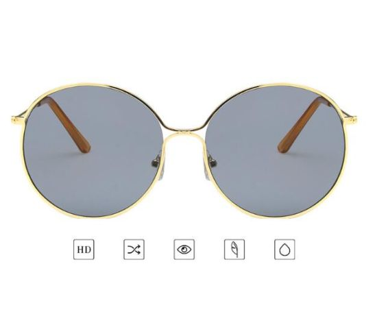 New Design Quality Metal Sunglass Round Frame Sun Glasses pictures & photos