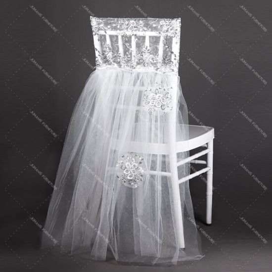Romantic Wedding Chiavari Chair Back Decoration Sashes (HM-Y023) pictures & photos