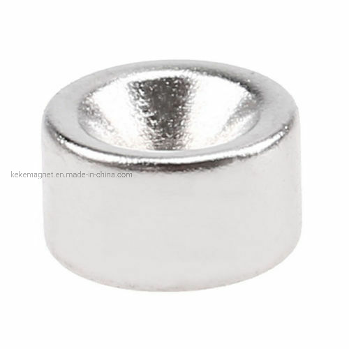 Disc Ring Strong Magnets Rare Earth Neodymium Magnet with Hole pictures & photos